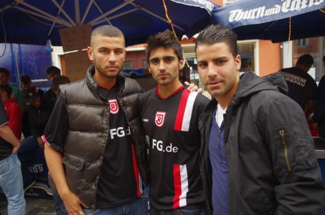 Yusuf Emre Kasal, Selcuk Alibaz, Mahmut Temür, Jahn Regensburg