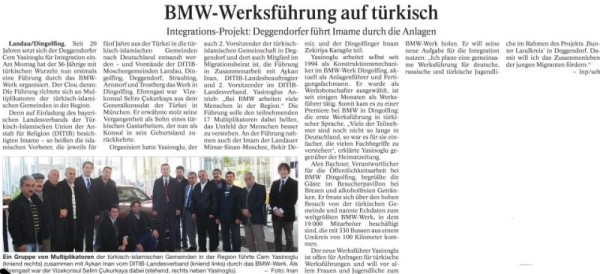 Cem Yasinoglu, Passauer Neue Presse