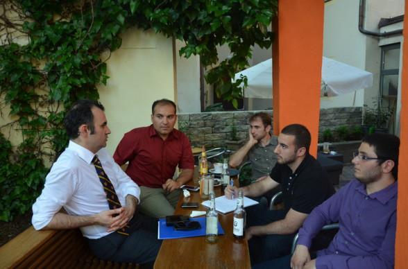 Dr. F.H. Burak Erdenir, Salih Altuner, İhsan Yeneroğlu, Cezmi Türk, Emre Şentürk