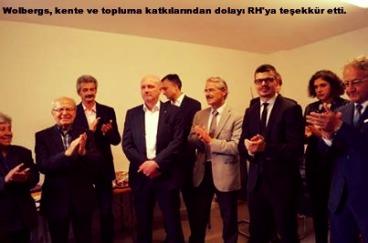 Fatma Kirik, Erdoğan Ökmen, Thomas Plössl, Joachim Wolbergs, Thomas Burger, Hans Rentner, Emre Öndin, Nisa Nur Filiz, Hanns J. Huber, Büro Regensburg Haber