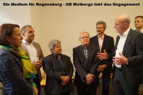 Gertrud Maltz-Schwarzfischer, Salih Altuner, Fatma Kirik, Erdoğan Ökmen, Thomas Plössl, Joachim Wolbergs, Thomas Burger, Büro Regensburg Haber