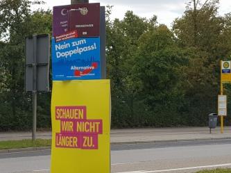 AfD, Regensburg, Almanya Genel Secimleri, Bundestagswahl