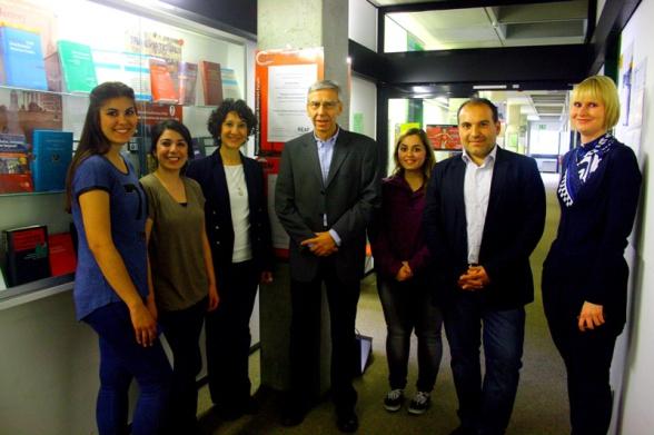 Prof. Dr. Udo Hebel, Dr. Esra Öztarhan, Salih Altuner