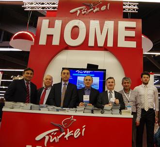 Osman Sahin, Asip Kaya, Osman Nuri Hasirci, Freizeitmesse, Türkei Home