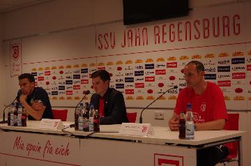 Valerin Ismael, Heiko Herlich, Martin Koch, Jahn Regensburg, Wolfsburg