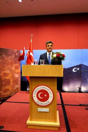 Berlin Büyükelçisi Ali Kemal Aydın, Asure Sofrasi
